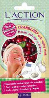 L'ACTION  Cranberry Anti - Aging Mask 6g
