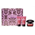 SET VERSACE Crystal Noir EDT 50ml + BODY LOTION 50ml + SHOWER GEL 50ml