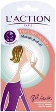 L'ACTION Peel Off Face Mask zelowa oczyszczajaca maseczka 6g